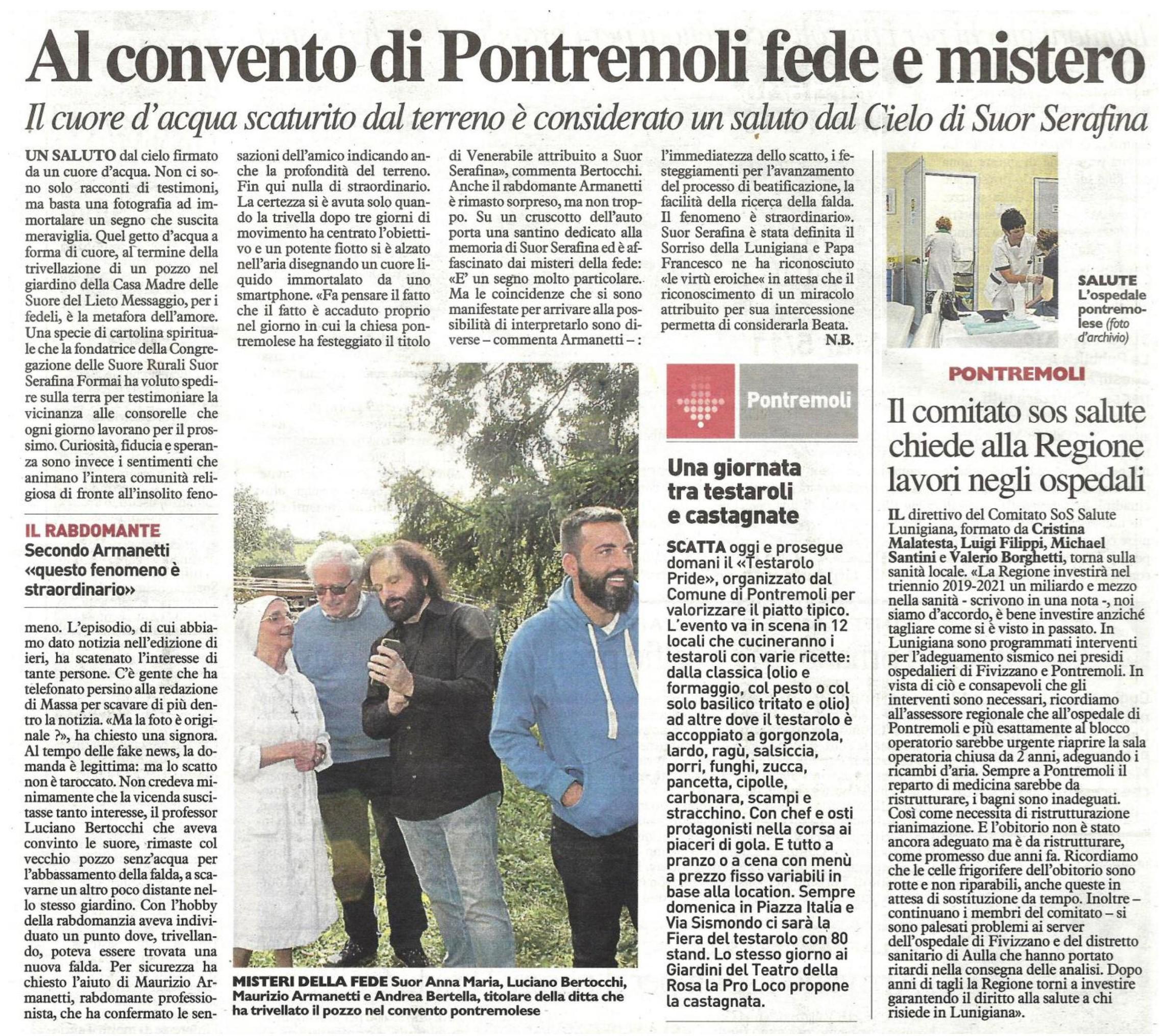 Stampa -La Nazione - Armanetti Maurizio