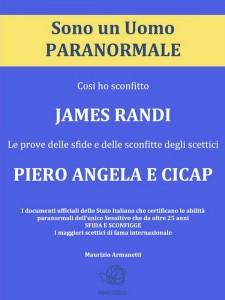 Sono un Uomo Paranormale copertina libro